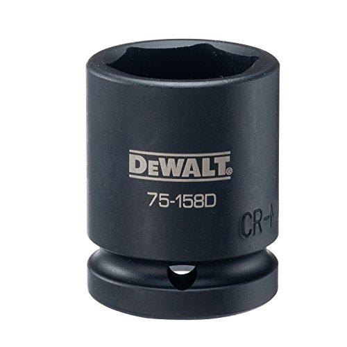 DEWALT 3/4 Drive Impact Socket 6 PT 1 1/8