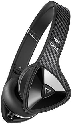 Monster DNA On-Ear Headphones Black Carbon Fiber