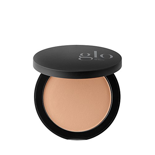 Glo Skin Beauty Pressed Base - Natural Dark | Mineral Pressed Powder Foundation | 24 Shades, Buildable Coverage, Matte Finish