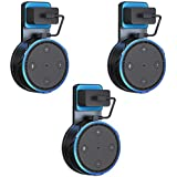 Penck Outlet Wall Mount for Echo Dot (2nd Generation), Wall Mount Stand Hanger Holder Without Messy Wires, Perfect for Echo Dot Accessories or Your Home Smart Speaker (3-Pack)