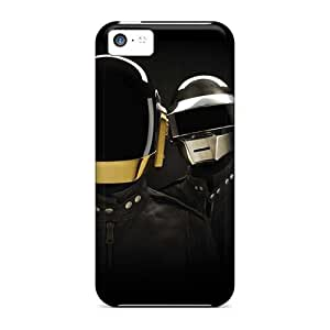 Shockproof Hard Phone Cases For Iphone 5c (bTk12259TEdQ) Unique Design Nice Daft Punk Band Series