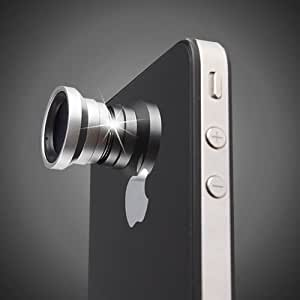 Generic Magnetic 0.67X Wide Angle / Macro Lens Designed for Apple iPhone 4 iPhone 4S iPod Nano 5 iPad
