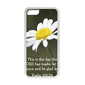 Bible Verse Cross Psalm - This is day that the Lord has made Snap-On Hard Protective Case for iPhone 5c