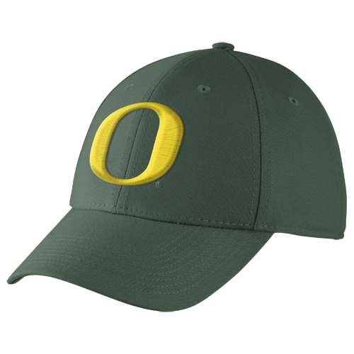 Oregon Ducks Dri-FIT Swoosh Flex Hat (Swoosh Flex Cap)