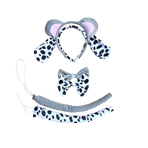 Kinzd Kids Cute Animals Mouse Dalmatian Tiger Party Halloween Costume (Dress Up Dogs)