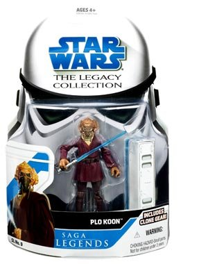 - Star Wars Saga Legends Plo Koon Legacy Collection