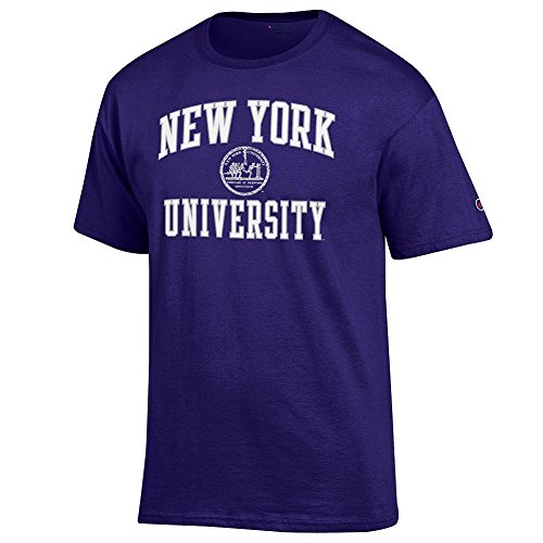 New York University Violets Tshirt Seal Purple   Xxl