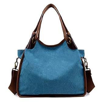 Cocaker Women Handbags Hobo Canvas Shoulder Tote Bags Shopper Handbags Large Fashion Handbags for Women GP316