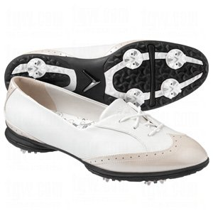 Callaway Women's Rhiona W476-15 Golf Shoe,White/Bone,5.5 M US