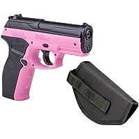 *Crosman Wildcat Kit P10PNKKT CO2 Air Pistols (Pink) BB Air Pistol with Holster