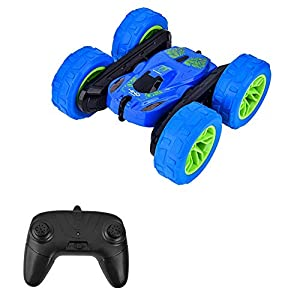 SNOWINSPRING RC Stunt Drift Car 4WD RC Cars Double Flips Stunt Car, 2.4GHz Remote Control Boys Toys Gift for Kids 5-12…