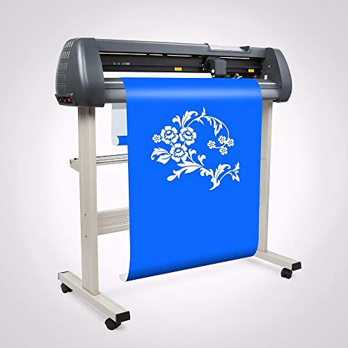 FINCOS 34'' Vinyl Cutter Sign Cutting Plotter W/Artcut Software Design/Cut with Stand, Blade, CD by FINCOS (Image #1)