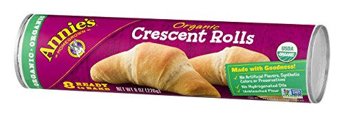 Annies Organic Crescent Rolls, Ready to Bake Rolls, 8 Count