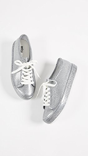 Silver Be Glitter Women's Sneakers Melissa Bright 86wPcA6q