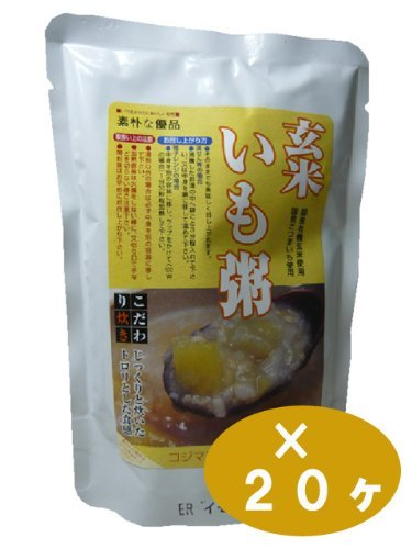 Kojima Foods organic brown rice porridge potatoes (200g) 20 Kekesu sale goods by Kojima Foods