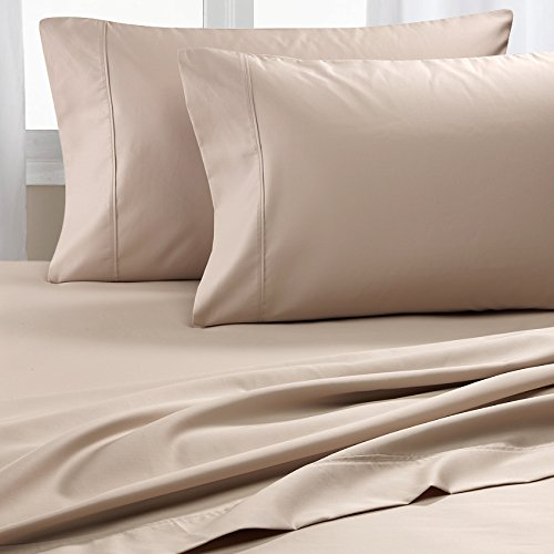 CHATEAU HOME COLLECTION Chateau Home Hotel Collection Luxury 100% Cotton Solid 600 Thread Count Sheet Set Mega Sale - Lowest Prices Guaranteed! (King, (600 Supima Set)