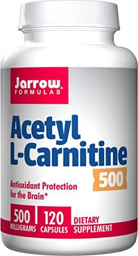 Jarrow Formulas Acetyl L-Carnitine 500 mg, Support…