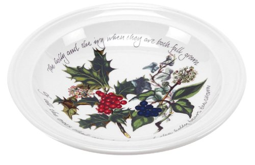 Portmeirion Holly and Ivy Soup Bowls, Set of 6