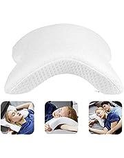 Etmury Memory Foam Pillow, Cervical Neck Pillow, U Shape Arched Pillow, 6 in 1 Slow Rebound Pressure Pillow, Neck Pillow for Hand and Neck Protection Relieves Pressure