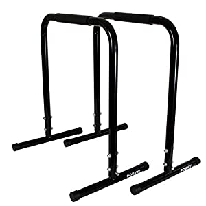 Push Up Stand 1 paar / Dip Ständer / High Parallettes von POWRX Professional...