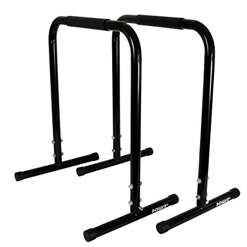 Dip Ständer PAAR / High Parallettes von POWRX Professional - B 65 / H 77 cm