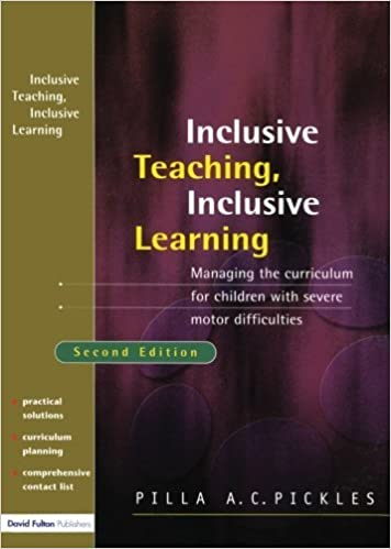 Book Managing the Curriculum for Children with Severe Motor Difficulties: A Practical Approach by Pickles Pilla (2004-08-16)
