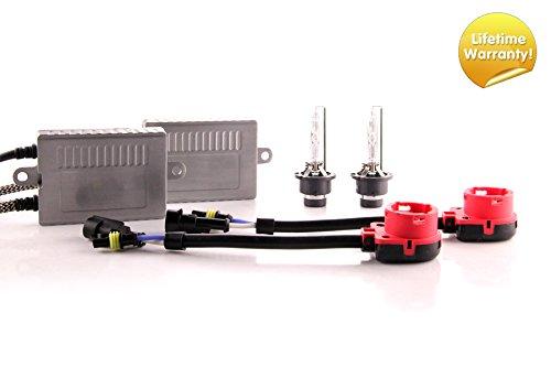 DDM Tuning Plus 35W Premium HID kit, Slim AC Ballasts w/Hi-Output Bulbs, D2S, 5500K