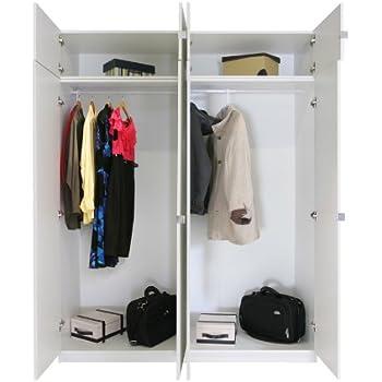 Superb Alta 8 Door Wardrobe Closet Basic Package   Tall