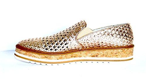 EMANUELLE VEE 371-806-15-WV GOLD slip on donna 40