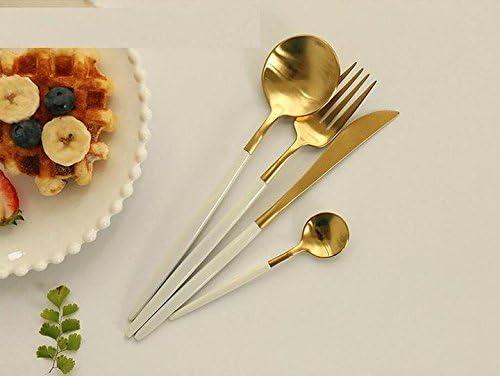 48 PCs Restaurant Quality Stainless Steel Ice Tea Spoon Flatware Sunflower