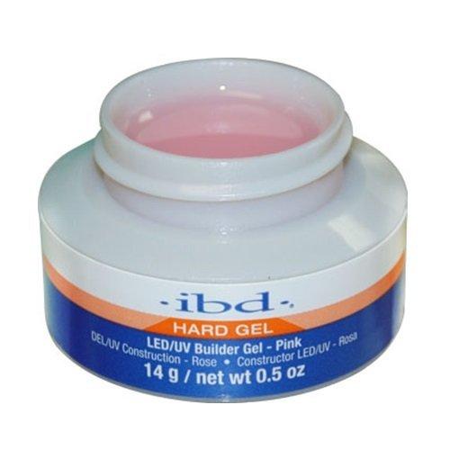 (ibd Hard Gel - LED/UV Builder Gel - Pink - 14g / 0.5oz by IBD )