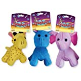 SPUNKEEZ PLUSH ANIMALS 4.5'' #35160, CASE OF 144