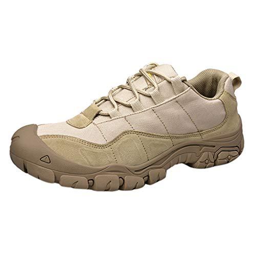 Unisex Running Lightweight Sports Fashion Comfort Outdoor Walking Shoes Sneakers Khaki ()