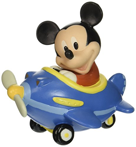 (Precious Moments Disney Showcase Collection, Let Your Heart Soar Mickey Mouse, Bisque Porcelain Figurine, 153701)