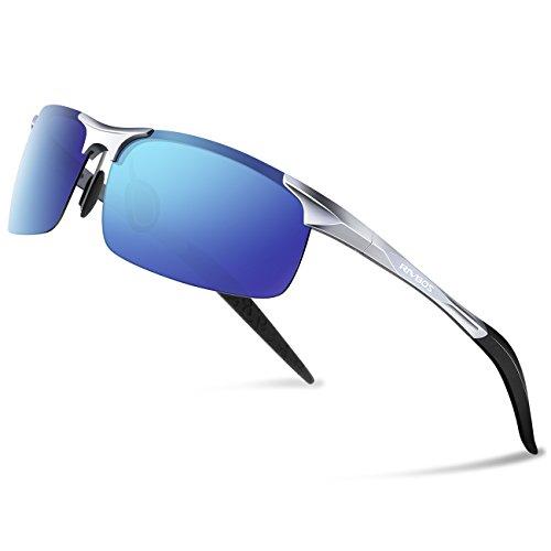 Blue Silver Ice de Lens Gafas hombre para sol RIVBOS xX70qpAwx