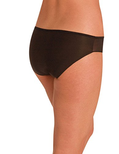 Naomi and Nicole Edgies Black Hipster A103 Medium Nicole Hipster Panties
