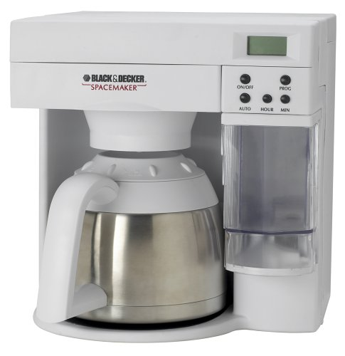 Black & Decker  ODC405 Spacemaker 10-Cup Stainless-Steel Thermal Carafe Coffeemaker - Spacemaker Digital Thermal Coffee Maker