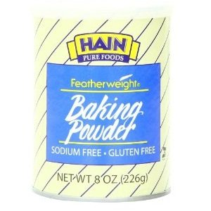 Hain Pure Foods Baking Powder Low Salt ( 12x8 OZ)