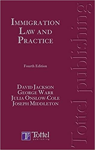 Immigration Law: Amazon co uk: David Jackson, George Warr