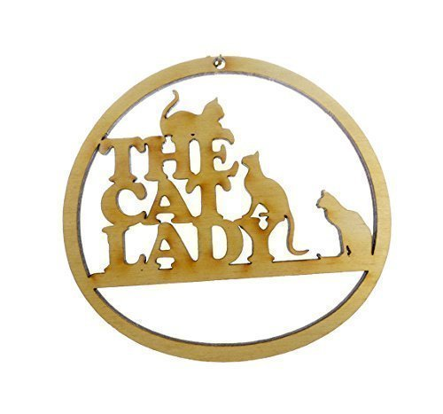 amazon com cat lady ornament cat lady gifts cat gifts for women