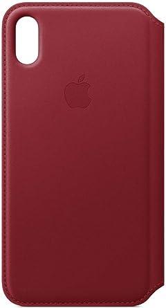 Custodia Iphone Xs Max Folio Telefono Rosso Cover Iphone Xs Max