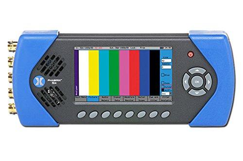 Sd Sdi Video Generator - PHABRIX PHSXAES 3-in-1 3GSDI/HD-SDI/SD-SDI/AES Portable Video Test Signal Generator/Analyzer/Monitor