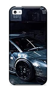 MMZ DIY PHONE CASEFashionable Style Case Cover Skin For iphone 5c- Amazing Car Dekstop April Mei