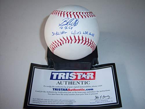Brandon Webb Diamondbacks 06 Cy3X Allstar Tristar/Holo Autographed Signed MLB Baseball