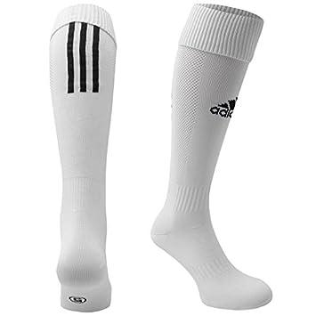 3d545f065289 Santos A D I D A S KIDS FOOTBALL SOCKS WHITE BLACK SIZE 13-2 EU31-33 ...