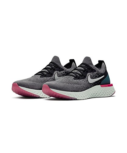 React Gunsmoke Teal Epic Running Black Multicolore Geode Scarpe White Donna Wmns NIKE 010 Flyknit qTwFFE