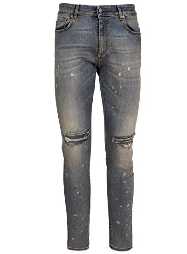 0926 Uomo Cotone Represent Jeans Grigio aqPz7wSR