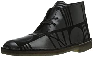Clarks Men's Desert Pattern Chukka Boot,Black/Black,8.5 M US (B00EAE4D5U) | Amazon price tracker / tracking, Amazon price history charts, Amazon price watches, Amazon price drop alerts