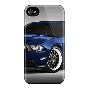 CollectingCase Iphone 4/4s Hybrid Tpu Case Cover Silicon Bumper 2010 Ford Mustang At Sema 2009 2