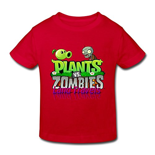 - Toddler Plants Vs. Zombies Logo Design Cool Size 2 Toddler Color Red Shirt By Crystal